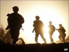 US marines in Helmand, Afghanistan