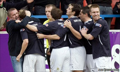 Dundee are unbeaten since entering administration