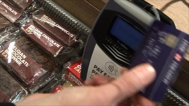 Payment by swipe card