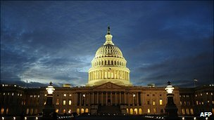 The US Capitol building (file pic)