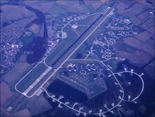 RAF Bentwaters base, 1985