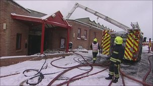 Fire Hit Lime Kiln Leisure Centre To Partially Reopen Bbc News