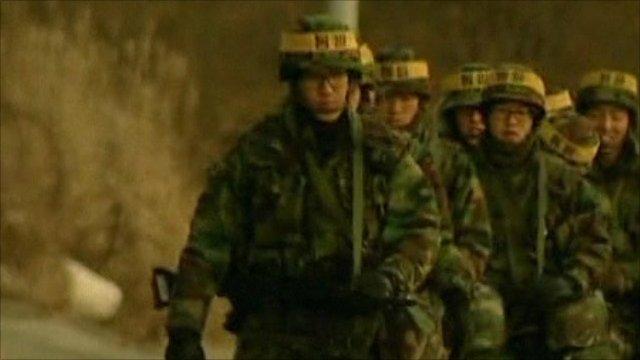 Troops in South Korea