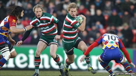 Billy Twelvetrees (centre)