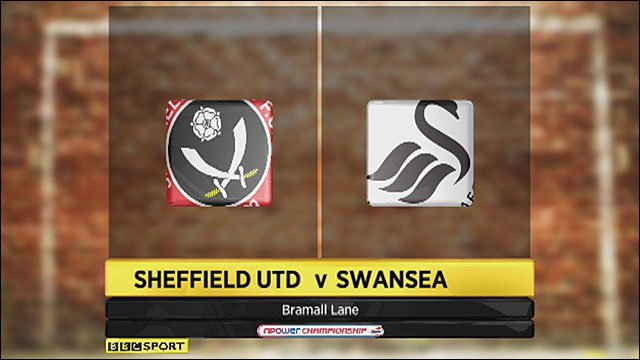 Sheffield United 1-0 Swansea