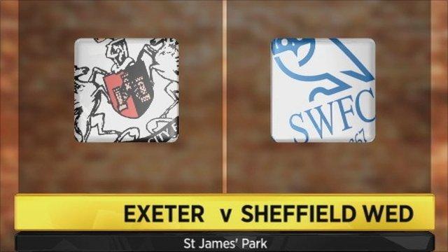 Exeter v Sheffield Wednesday