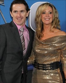 Tony McCoy and his wife Chanelle
