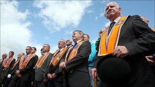 Orange Order members