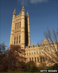Victoria Tower in Westminster