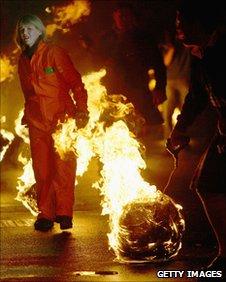 Fireballs in Stonehaven
