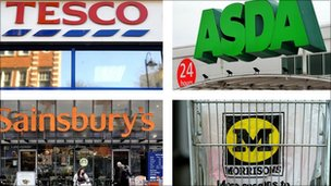 Big four supermarket chains