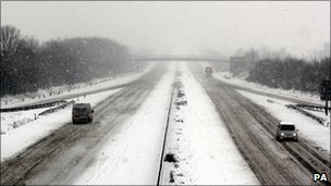 M5 on Somerset on Monday