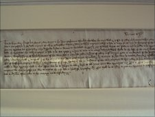 Death warrant ofThe first Act of Parliament signed by King Henry VII