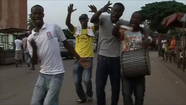 Pro-Gbagbo supporters take to the streets