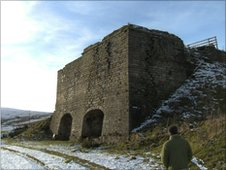 Thorngreen lime kilns near Allenheads, Northumberland