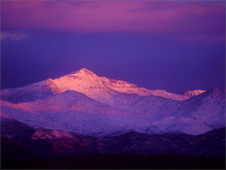 Snowdon at sunrise