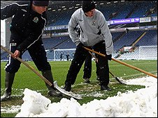 Blackburn groundsmen