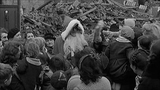 Christmas in the Blitz, London 1940