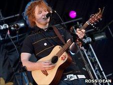 Ed Sheeran at Harvest at Jimmy's 2010