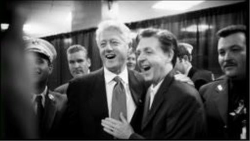 Bill Clinton and Paul McCartney together