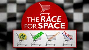 The Race for Space graphic