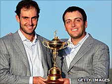 Edoardo and Francesco Molinari