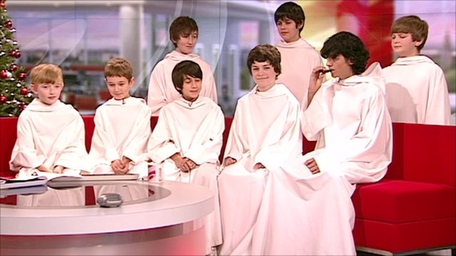Boys Choir Libera http://www.bbc.co.uk/news/entertainment-arts-12050474
