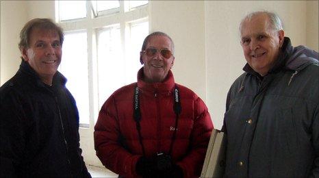Colin Bunyan, Stan Laundon and George Lambelle