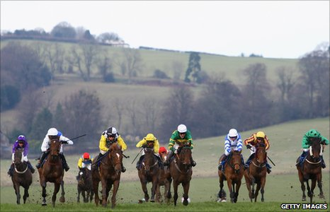 Tony McCoy rides Money Order at the 2009 Welsh National meeting
