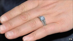 Zara Phillips's engagement ring