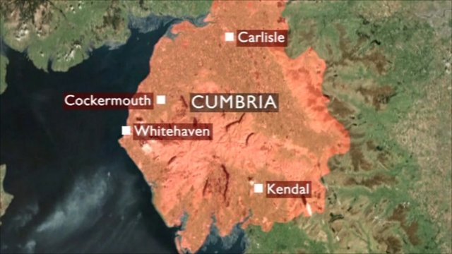 The tremor was felt across Cumbria