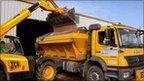 Enterprise Mouchel road gritting lorry