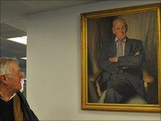 Bill Deeds portrait at the Telegraph