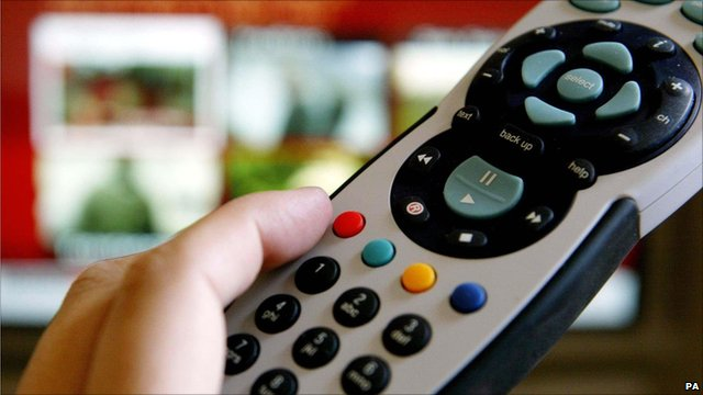 A Sky TV, BSkyB remote control