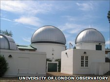 UCL's Astronomical Observatory in Mill Hill