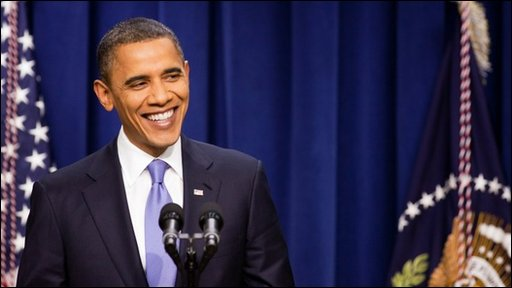 President Barack Obama holds a press conference
