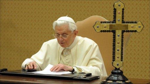 Pope Benedict in Rome