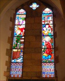St Stephen's church window