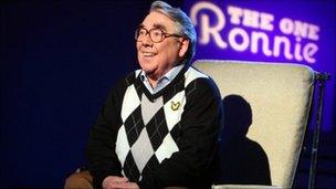 Ronnie Corbett in The One Ronnie