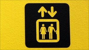 Lift sign