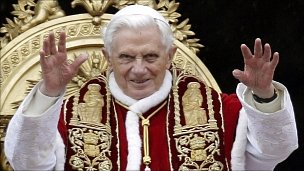 Pope Benedict at the Vatican