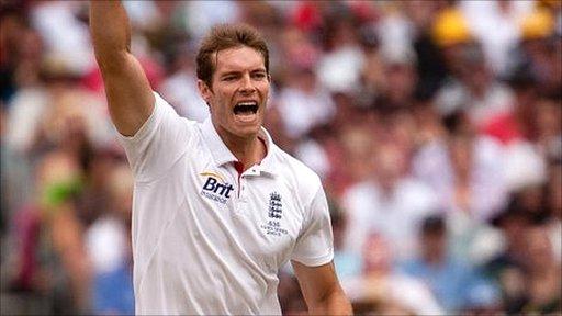 England's Chris Tremlett