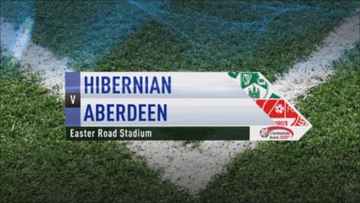 Hibernian v Aberdeen