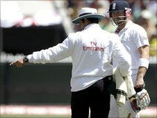 Aleem Dar talks to Matt Prior