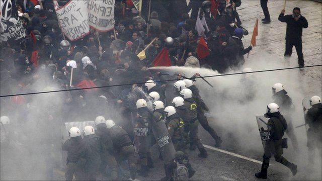 Protest in Greece 2010