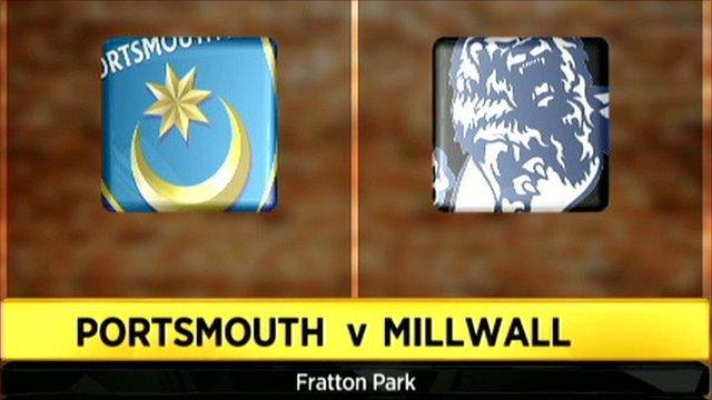 Portsmouth v Millwall