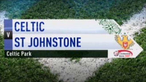 Celtic v St Johnstone
