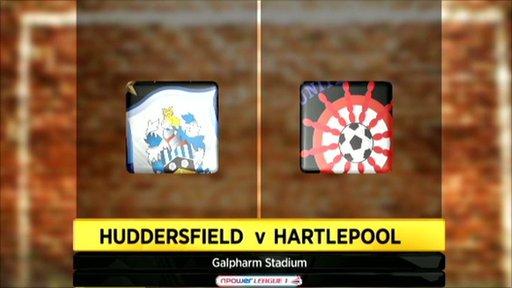 Huddersfield 0-1 Hartlepool
