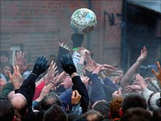 Shrovetide Football. Photo: Richard Walker