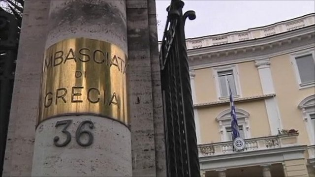 Greek embassy in Rome